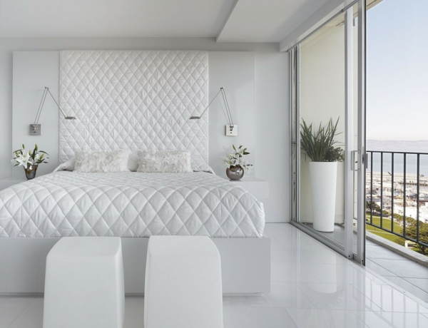 Schlafzimmer Einrichten Wunderbare Interior Design Ideen Weiß