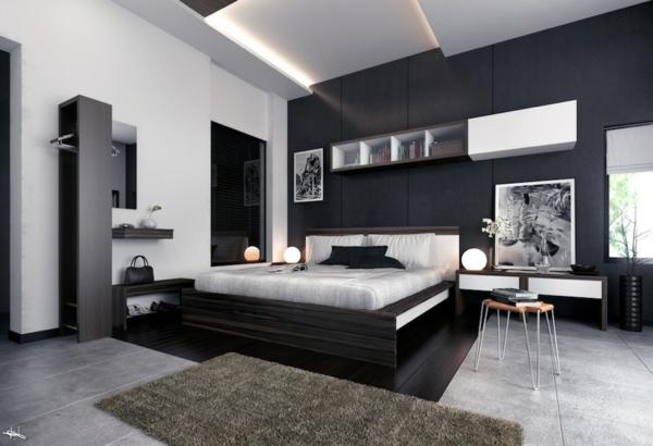 Schlafzimmer-gestalten-moderne-Schlafzimmermöbel---Modernes Schlafzimmer