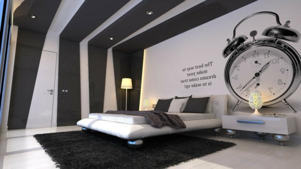 Schlafzimmer-gestalten-moderne-Schlafzimmermöbel-fantastische-Wandgestaltung