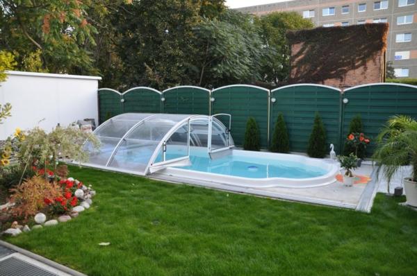 Pool berdachung moderne und aktuelle vorschl ge for Garten pool hersteller