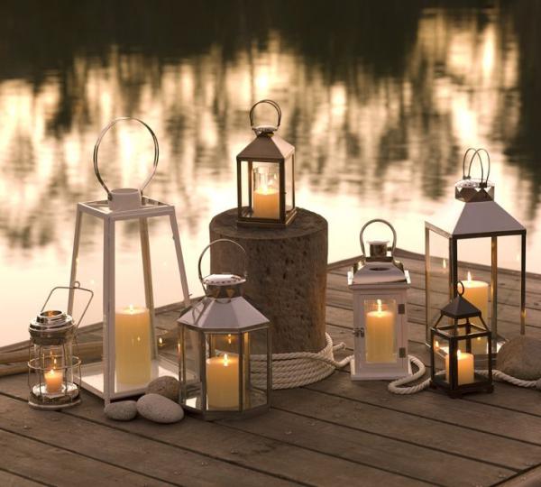 windlichter spektakul r f r die sch nste gartenparty. Black Bedroom Furniture Sets. Home Design Ideas