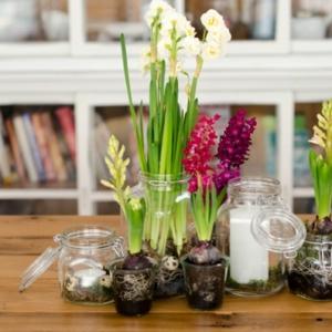 Atemberaubende Tischdekoration zum Frühling!