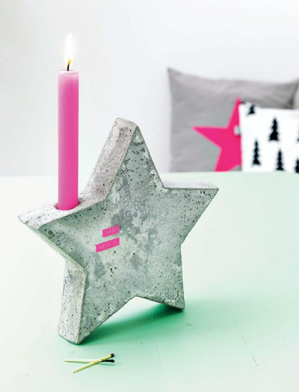 Stern-super-Ideen-für-Kerzenständer-Dekoideen-für-die-Wohnung
