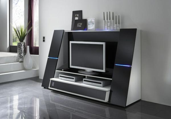 Tv-Möbel-schöne-moderne-Interior-Design-Ideen-Wohnzimmer