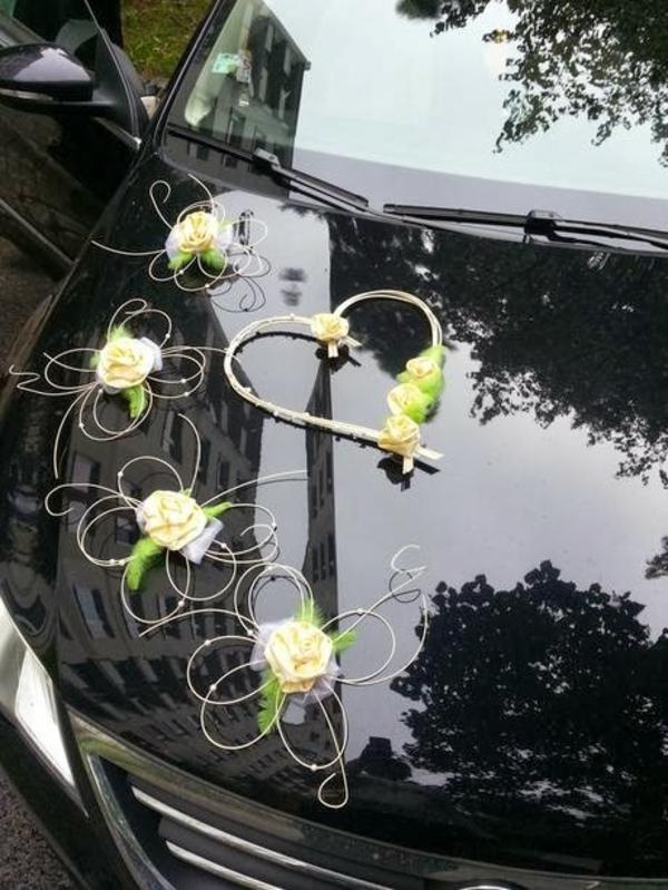 idee für auto schmuck zur hochzeit