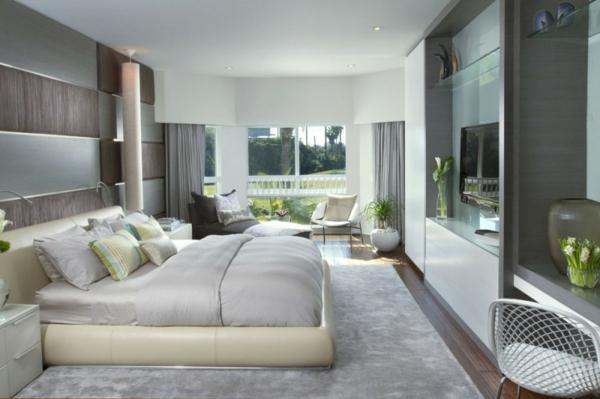 Wohnideen-moderne-und-elegante-Schlafzimmermöbel-moderne-Wohnung