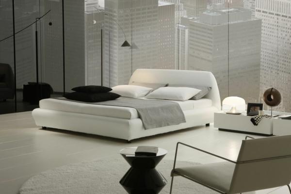 Wohnideen-moderne-und-elegante-Schlafzimmermöbel-modernes-Interior