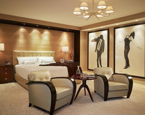 -Wohnideen-moderne-und-elegante-Schlafzimmermöbel-tolle-Beleuchtung