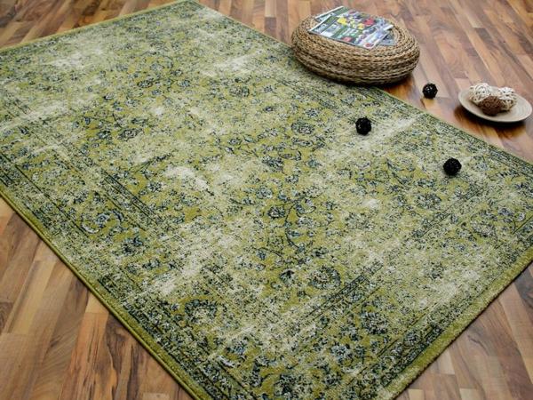 Grüner teppich  Patchwork Teppich - eine Besonderheit für Sich - Archzine.net