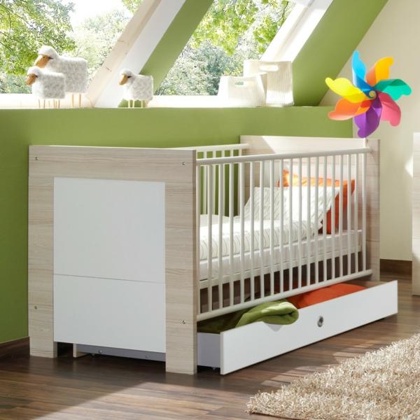 Babybett Weiss Schublade Cora Babybett Design Ideen Wunderschönes