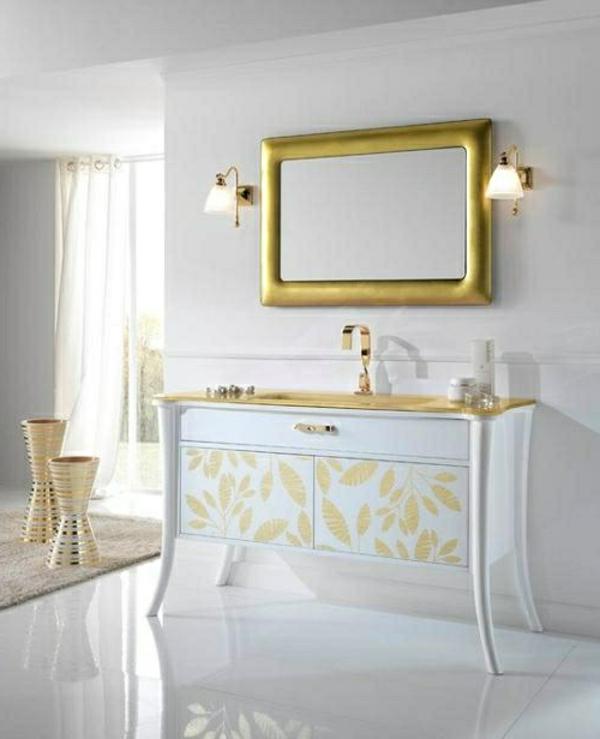 Badezimmer accessoirs atemberaubende ideen f r eine pure - Rahmen fur spiegel ...