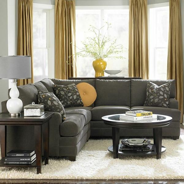 bequeme-couch-braun-schöne-einrichtungsideen-für-das-wohnzimmer