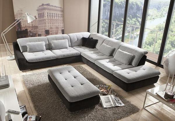 design : wohnzimmer couch grau ~ inspirierende bilder von ... - Wohnzimmer Couch Grau