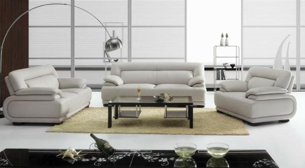 bequeme-ledercouch-in-weiß-schöne-einrichtungsideen-für-das-wohnzimmer