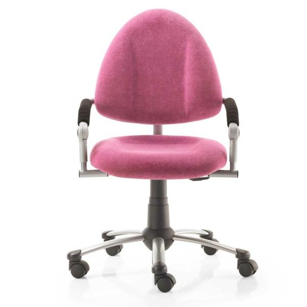 bequemer-Bürostuhl-elegantes-Modell-Büromöbel-in-Rosa