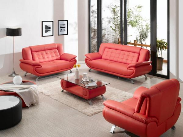 bequemes-ledersofa-in-rot-schöne-einrichtungsideen-für-das-wohnzimmer