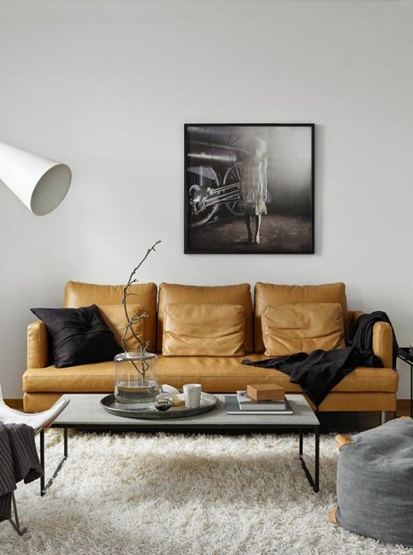 bequemes-ledersofa--schöne-einrichtungsideen-für-das-wohnzimmer