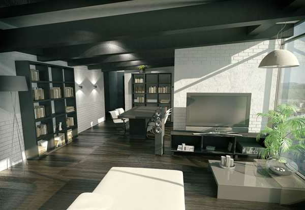 zimmerdecke streichen 43 bilder zum inspirieren. Black Bedroom Furniture Sets. Home Design Ideas
