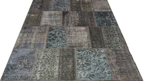 patchwork-braun-türkis-grau