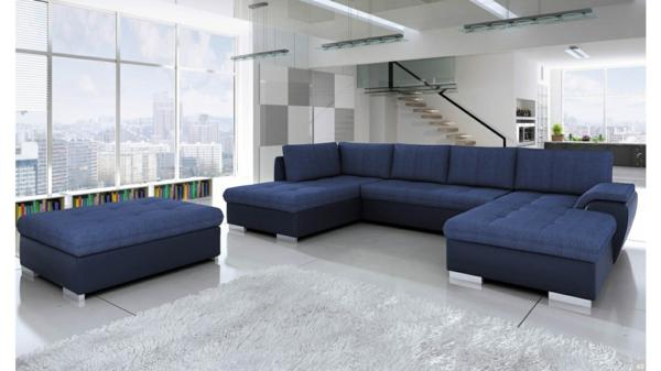 blaue-eckcouch-mit-einem-modernen-design