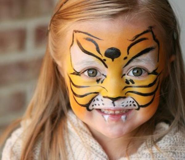 tiger schminken einfach