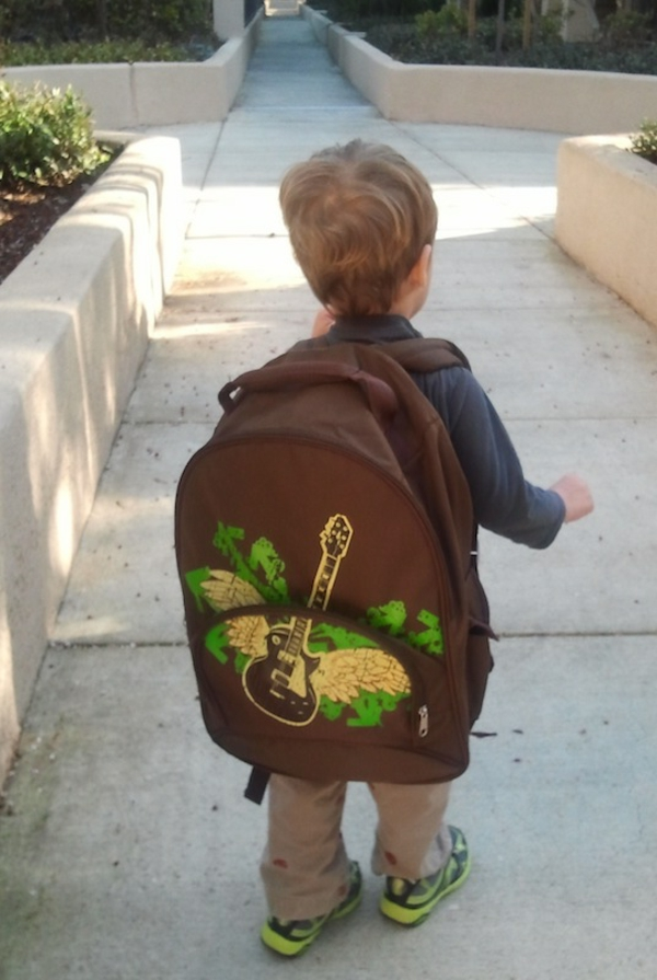 cooler rucksack für kindergarten - ganz großes modell