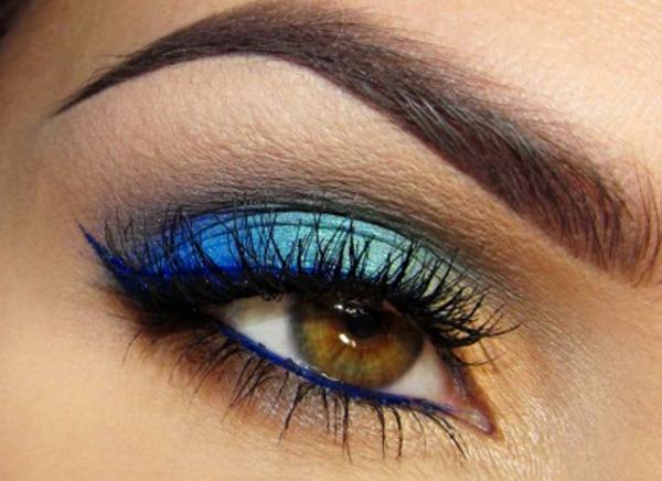 Augen Schminken - super sexy make up