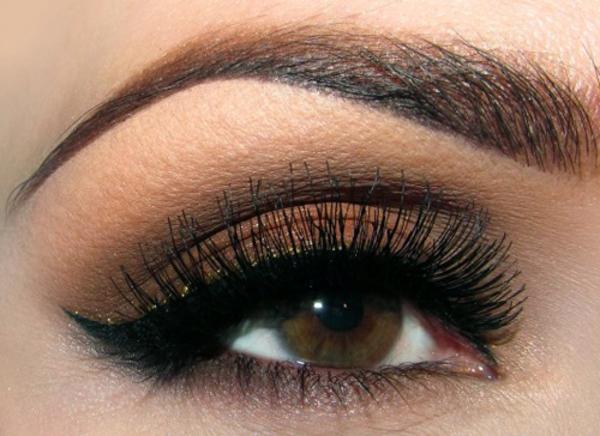 Augen Schminken - einfaches und schönes aussehen