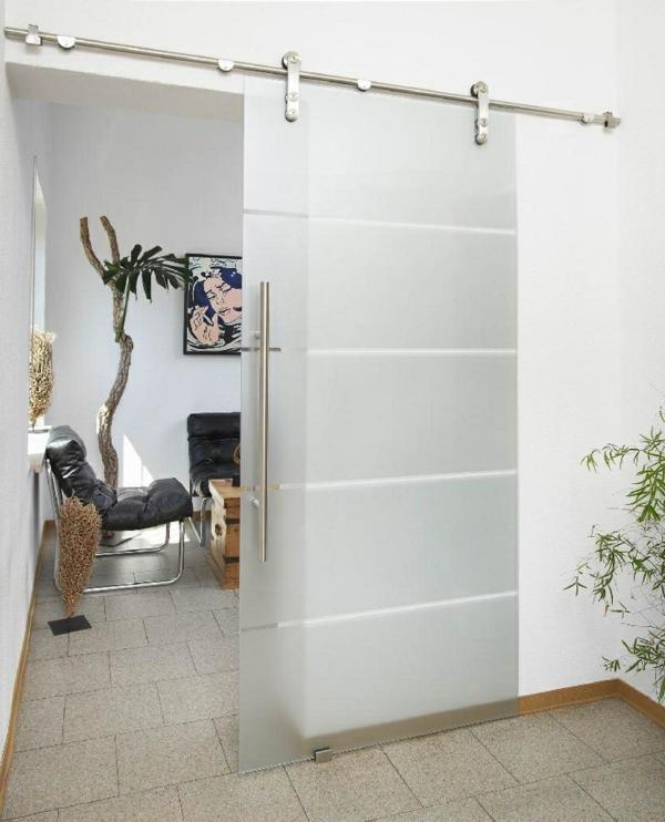 coole-schiebetüren-glas-tolles-design-wohnideen-innendesign