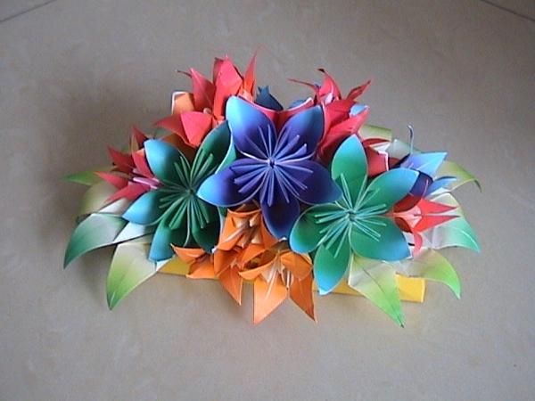 blumen-komposition-origami