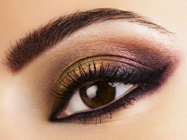 Augen Schminken - elegantes und modernes mak