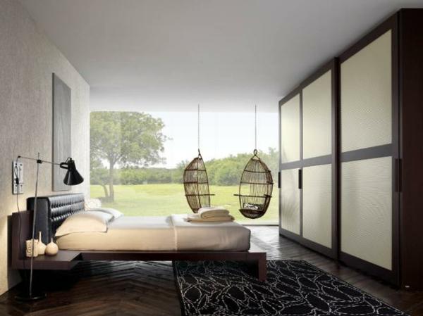 zimmer inspiration - hängende loungestühle