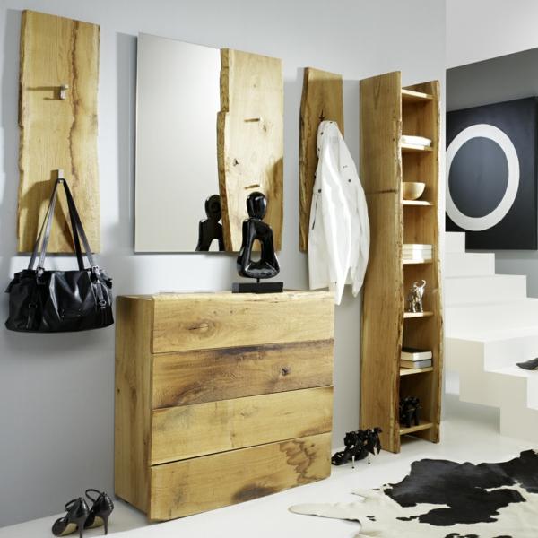Garderobenm bel moderne und funktionelle vorschl ge - Ausgefallene garderobenmobel ...