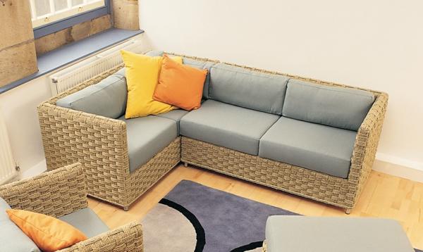 Rattan ecksofa mit schlaffunktion  Ecksofa - 105 wunderbare Modelle für Ihre Wohnung! - Archzine.net