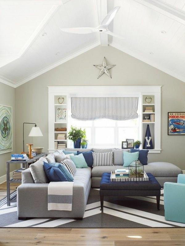 design-ideen-ecksofa-für-das-wohnzimmer -graues-sofa