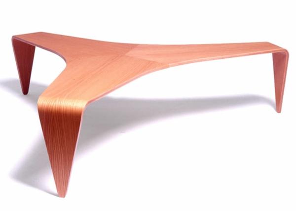 designer-tische-orange-farbe-und-kreative-form