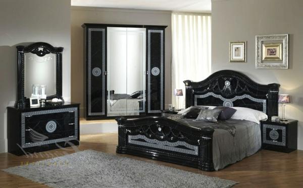 dunkle-italienische-schlafzimmer