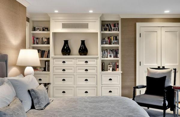 Eckschrank Im Schlafzimmer Sehr Gemütliches Ambiente