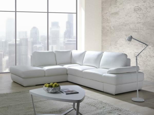 Ledersofa weiß  Sofa mit Schlaffunktion - bequem und super praktisch! - Archzine.net