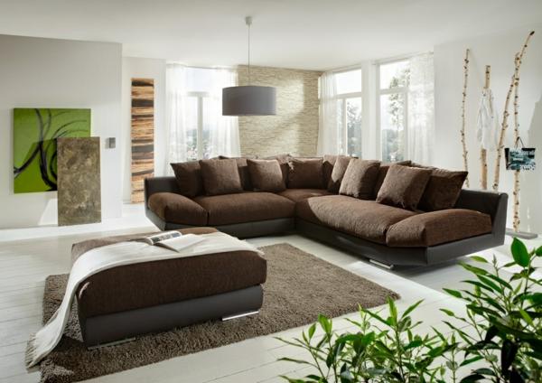 Ecksofa  105 wunderbare Modelle für Ihre Wohnung!