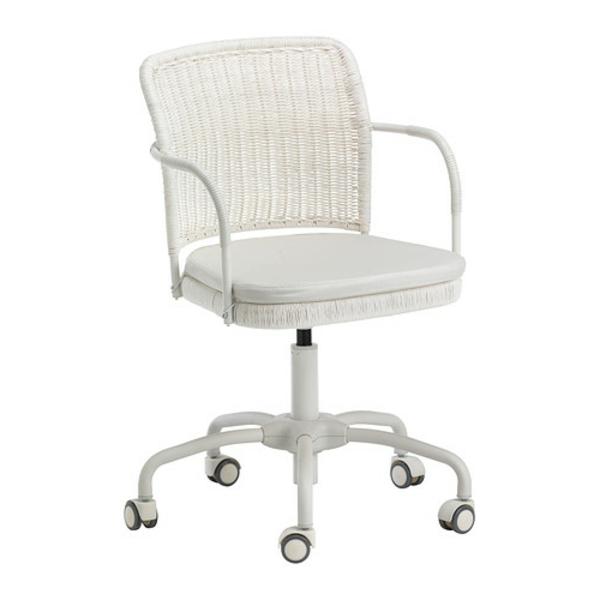 ein-bequemer-Bürostuhl-elegantes-Modell-Büromöbel-in-Weiß