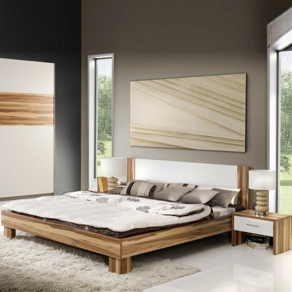 Attraktive nachttische moderne schlafzimmer