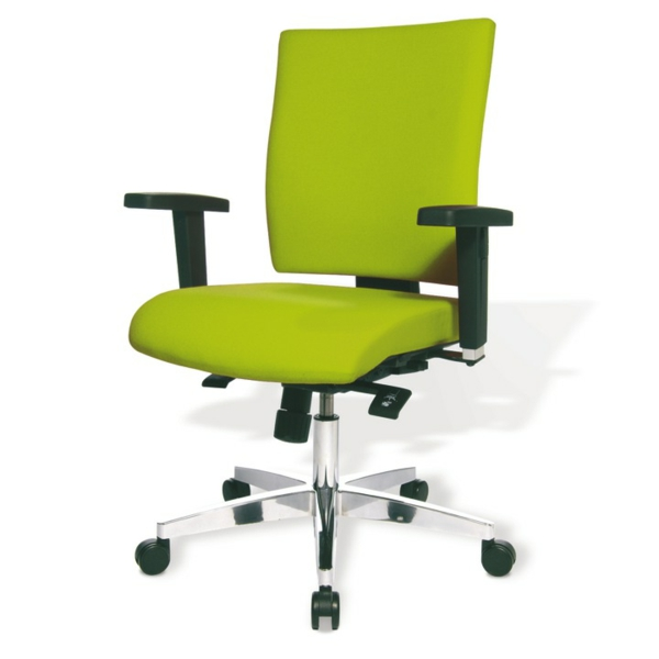 ergonomisch- bürostühle-in-grellen-farben-bürostühle-design-ideen-Ergonomischer Bürostuhl