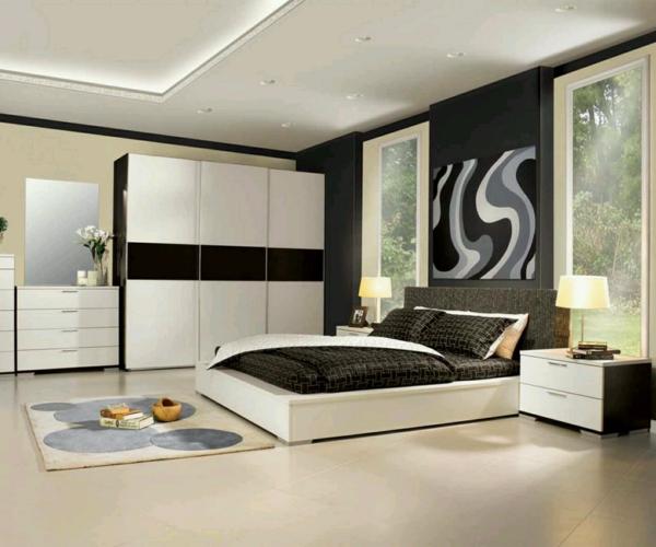Modernes Schlafzimmer einrichten - 99 schöne Ideen! - Archzine.net
