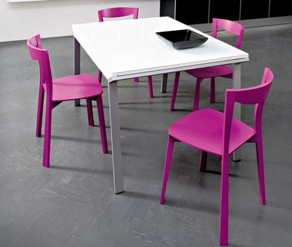 esszimmerstühle-holz-design-idee-interior-design-in-rosa