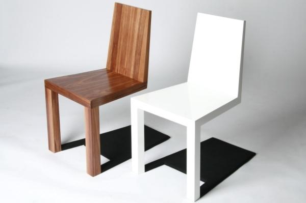esszimmerstühle-weiß-design-idee-für-eine-moderne-esszimmergestaltung-esszimmerstühle-holz