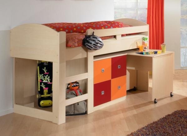 fantastische-Kinderzimmergestaltung-Hochbetten-mit-super-schönem-Design-Kinderzimmergestaltung