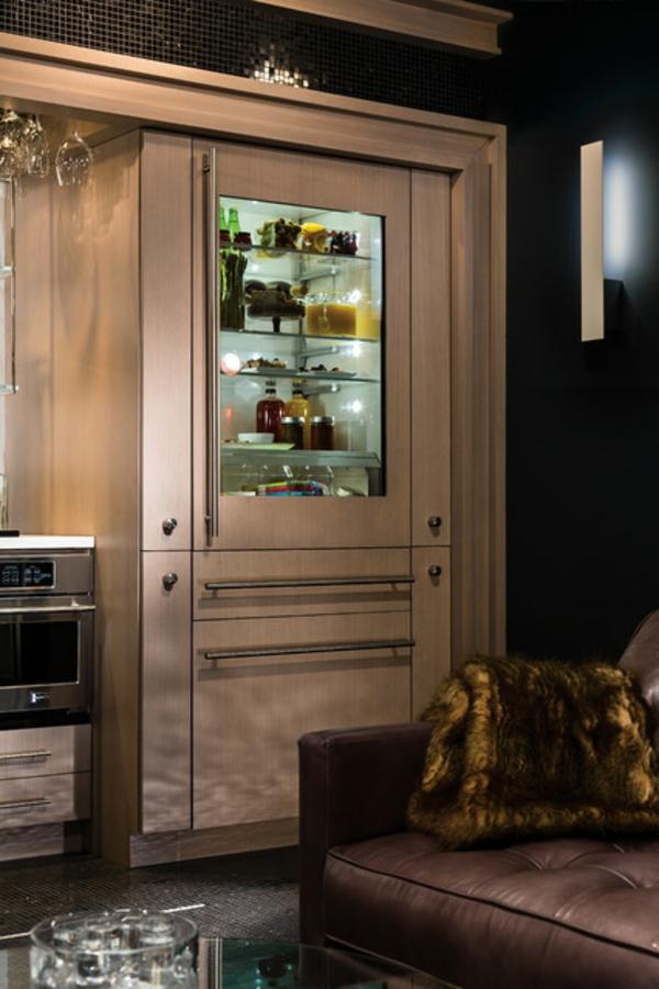 Glastürkühlschrank Eine Interessante Idee Für Ihre Küche! ~ Kühlschrank Mit  Glastür