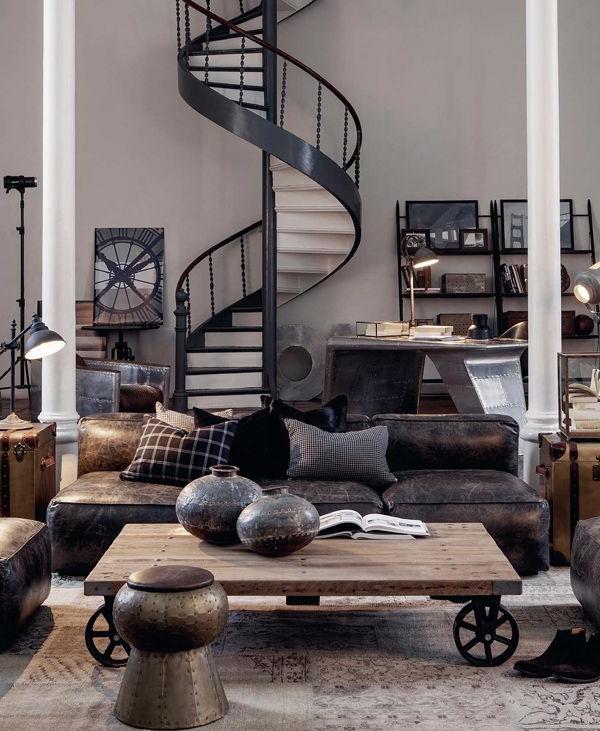 fantastisches-Design-Spiraltreppe-mit-sehr-schönem-Design