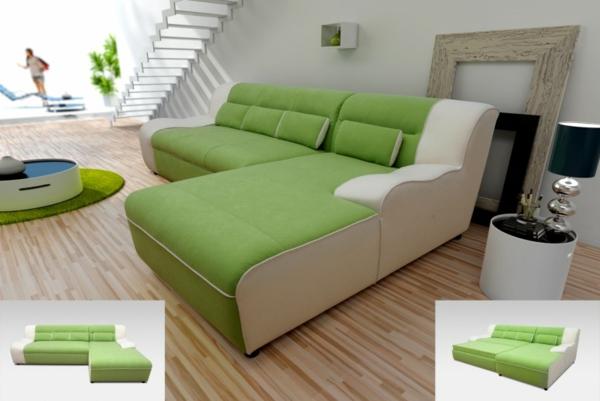 Sofa mit Schlaffunktion  bequem und super praktisch! -> Ecksofa Mit Schlaffunktion Modern